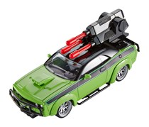 Fast & Furious Customizers Dodge Challenger & Vehicle Kit, Green/Black