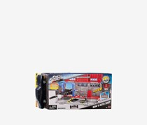 Mattel Fast & Furious 8 Customizers Doms Auto Shop Vehicle, Grey/Red/Black