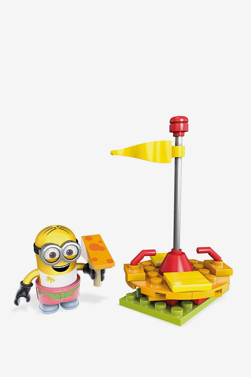 Mega Construx Despicable Me Cheese Merry Go Round Building Set