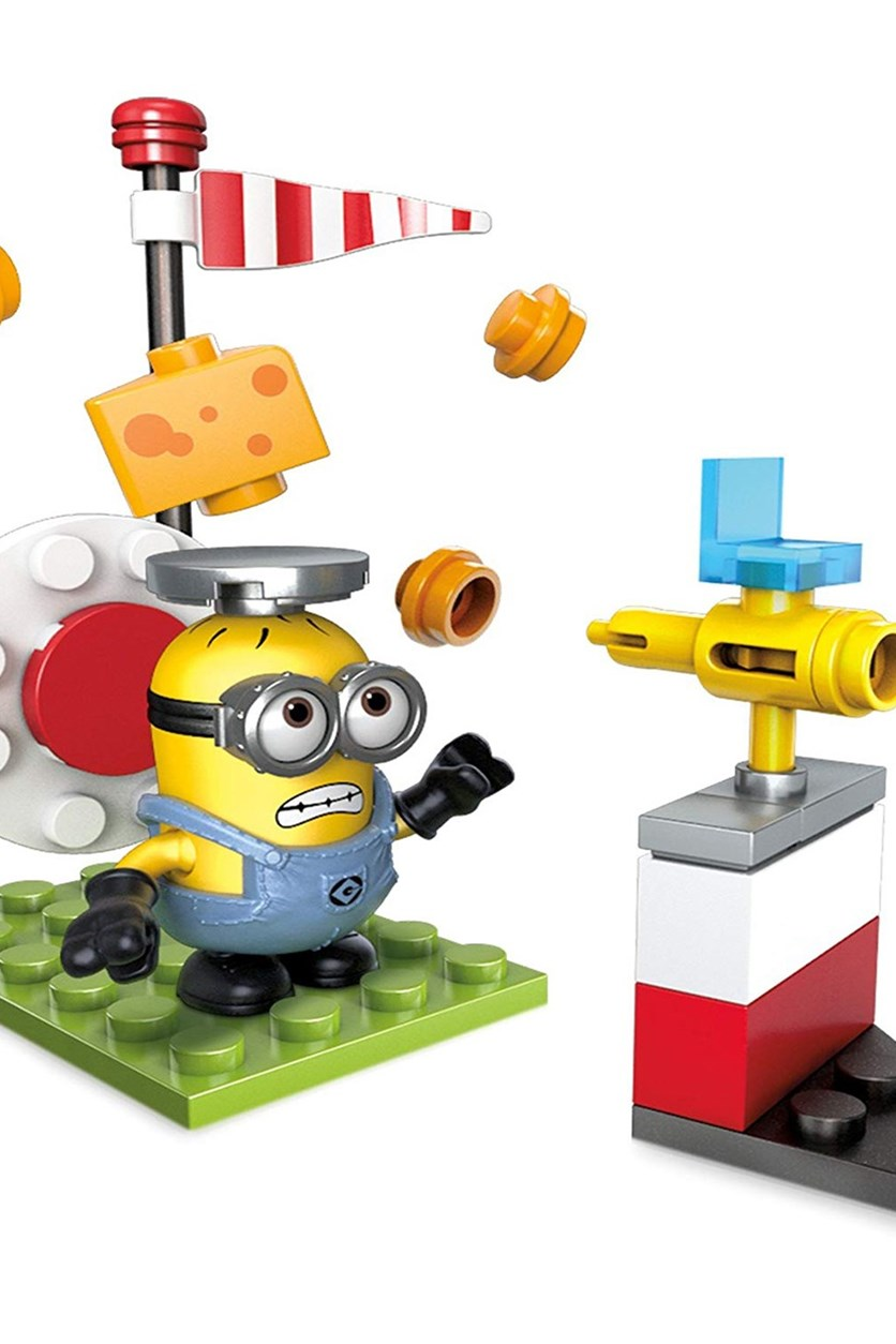 Mega Construx Despicable Me Cheese Shootout Building Set