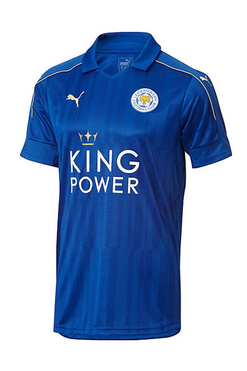 Leicester City Home Jersey Tee, Blue