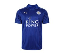 Puma Men's Leicester City FC Home Shirt, Royal