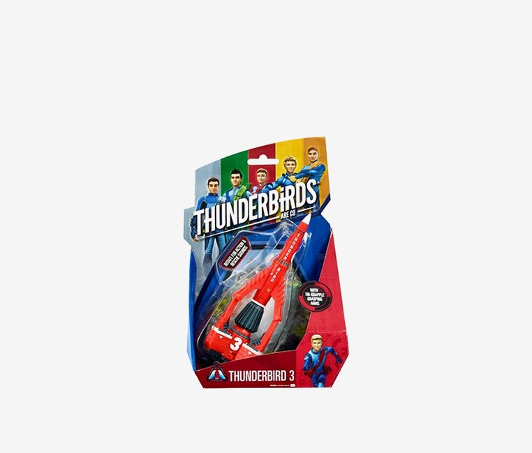 Vehicle TB3  3 by VIVID Toys, Red/Grey