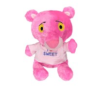 M-Top New Pink Panther Plush Toys, Pink Leopard/Fuchsia