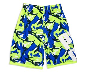 Puma Boys Bold Print Athletic Short, Royal Blue