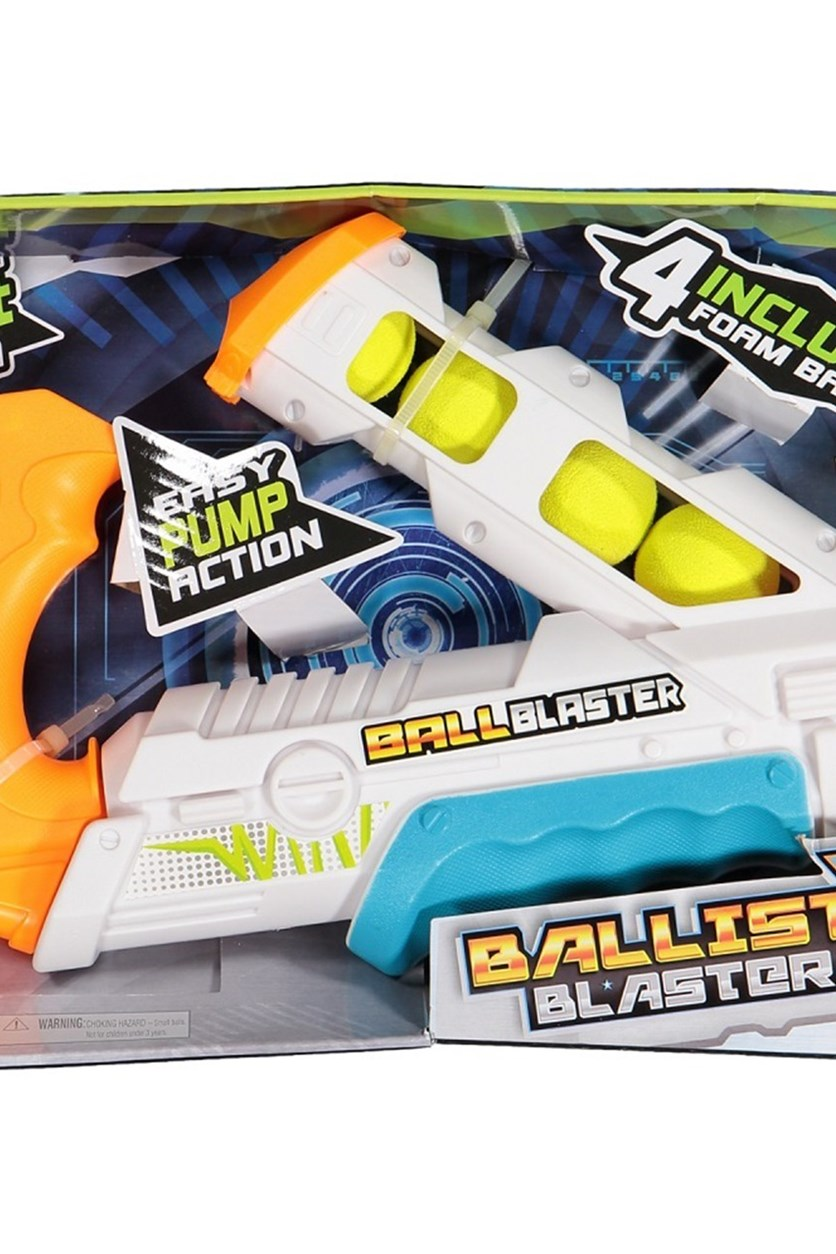 Ballist-X Ball Blaster, White/Orange
