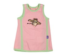 Disney Little Girls Sleeveless, Candy Pink