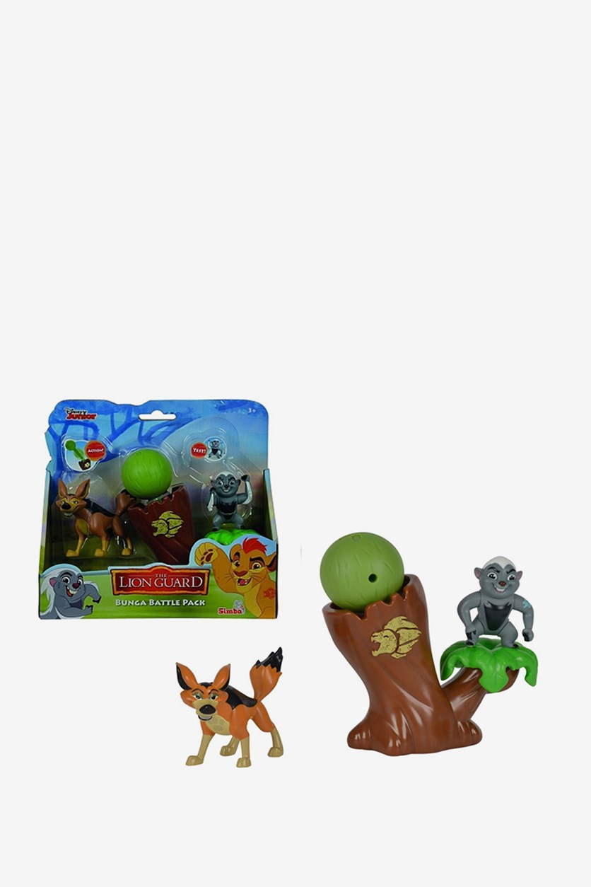 Lion Guard Aggressor Set Bunga Battle, Brown Combo