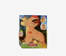 The Lion's Den Interactive Kion Plush Toy German Version, Yellow Combo
