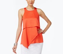 Alfani Asymmetrical Tiered Top, Tropical Punch