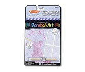Melissa & Doug On The Go Fashion Friends Learn-to Draw Pad, Lavender