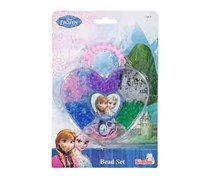 Simba Disney Frozen Color Beads Set With Heart Shape Storage, Purple Combo