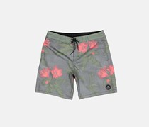 Billabong Sundays Low Tides Boardshort, Grey/Red