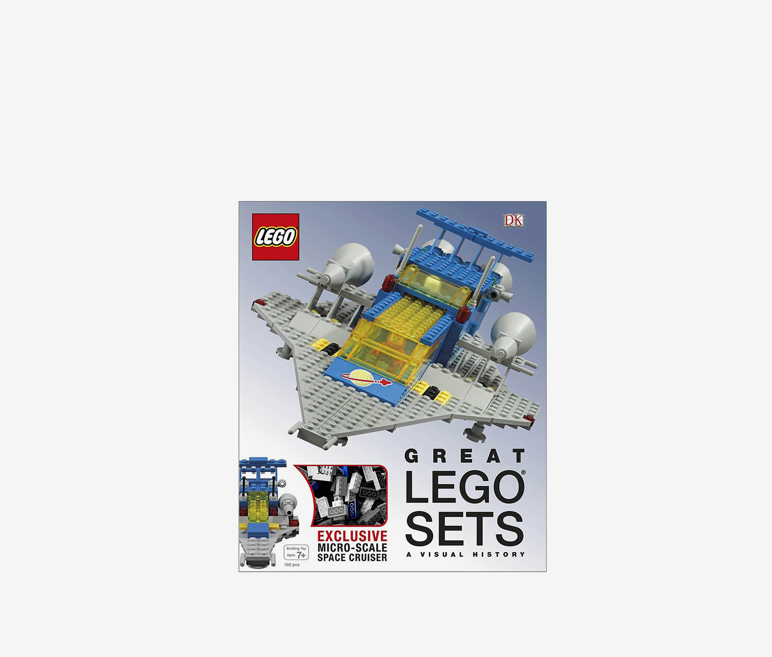Great LEGO Sets A Visual History, White/Blue