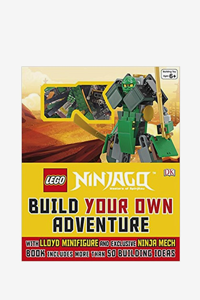 (R) Ninjago (R) Build Your Own Adventure, Black/Green