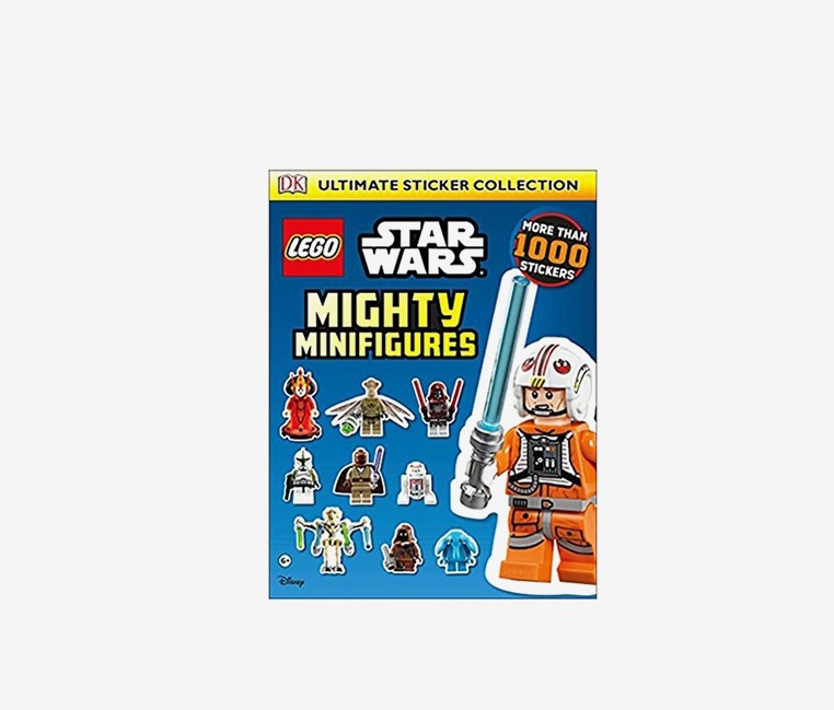 Star Wars Mighty Minifigures Ultimate Sticker, Blue
