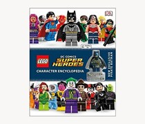 LEGO DC Super Heroes Character Encyclopedia, White