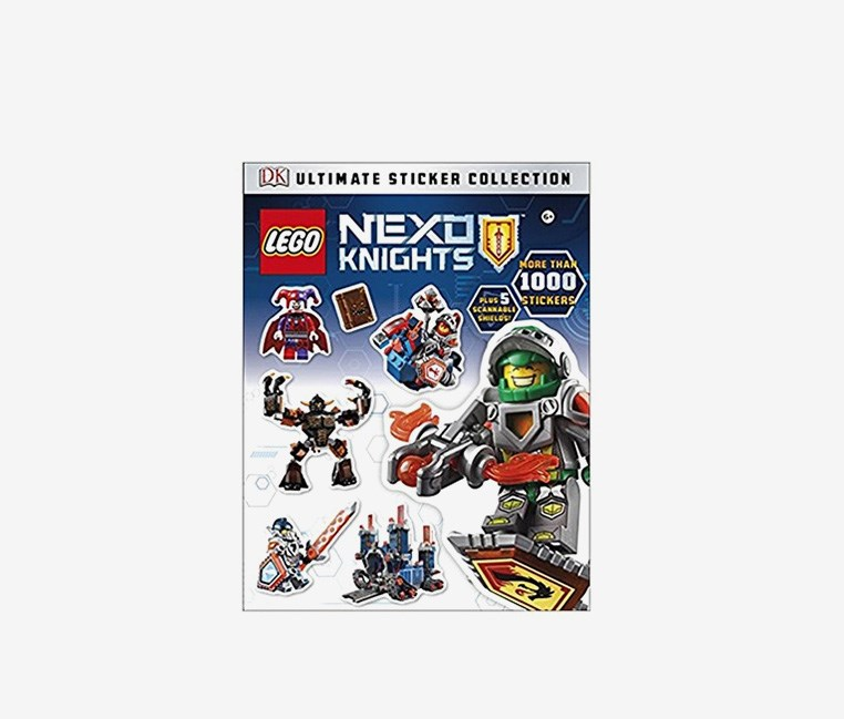 Nexo Knights Ultimate Sticker Collection Paperback, Blue