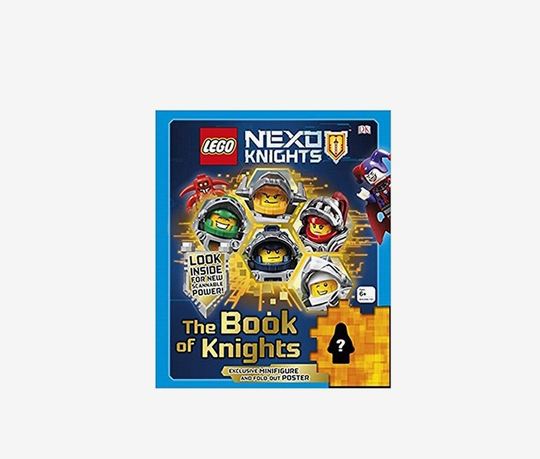 Nexo Knight The Book Of Knights, Blue