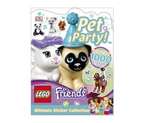 LEGO Friends Pet Party! Ultimate Sticker Collection, White