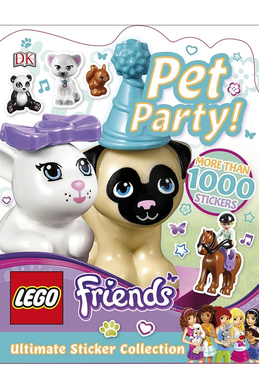 Friends Pet Party! Ultimate Sticker Collection, White