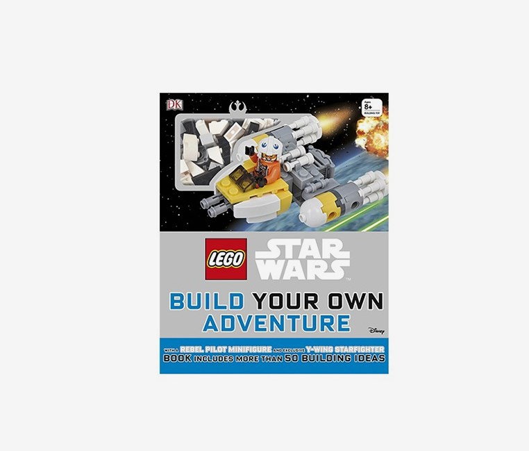 Star Wars Build Your Own Adventure : With a Rebel Pilot Minifigure and Exclusive Y-wing Starfighter