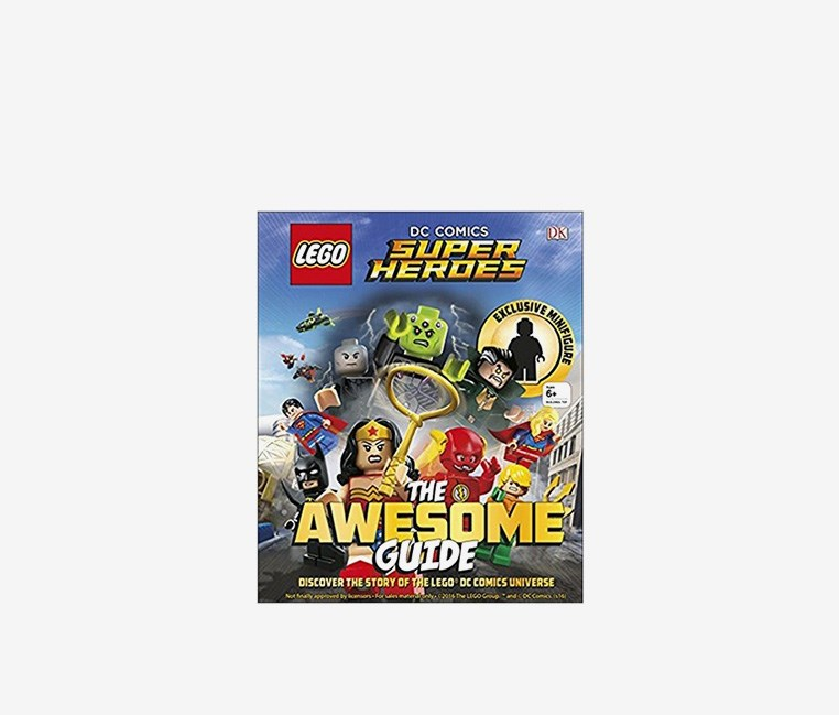 (R) DC Comics Super Heroes The Awesome Guide, Blue
