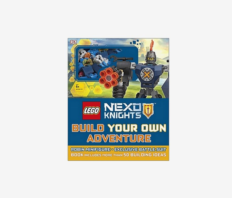 Nexo Knights Build Your Own Adventure, Blue