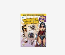 DC Wonder Woman Ultimate Sticker Collection, White/Gold