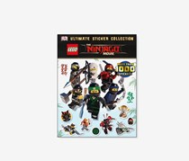 The Lego Ninjago Movie Ultimate Sticker Collection, Black/White