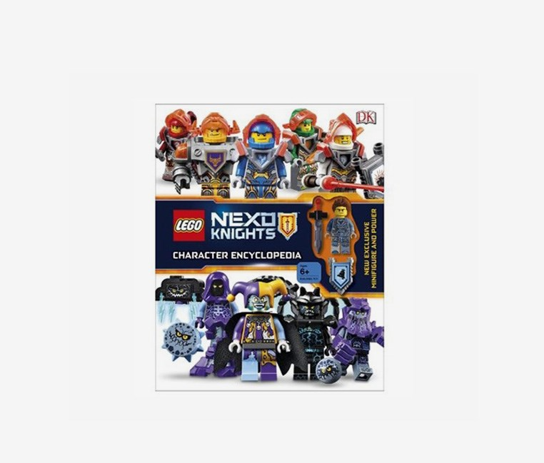 Nexo Knights Character Encyclopedia, Black/White