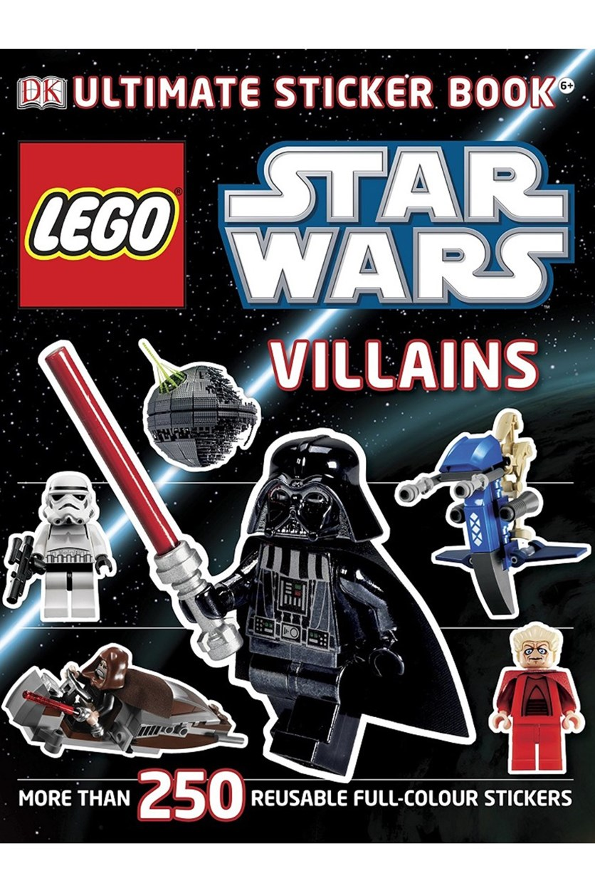 Star Wars Villains Ultimate Sticker Book