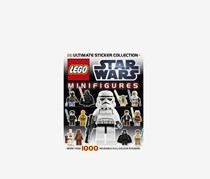 LEGO Star Wars Minifigures Ultimate Sticker Collection, Black/White