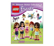 Lego Friends Ultimate Sticker Collection Book, Green/White