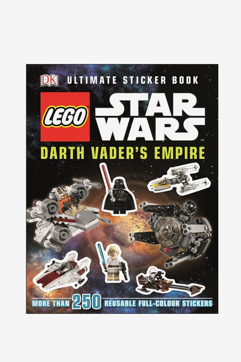 Star Wars Darth Vaders Empire Ultimate Sticker Book, Black