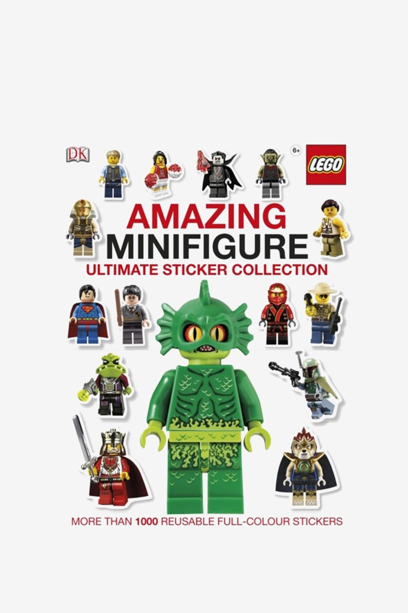 Amazing Minifigure Ultimate Sticker Collection, White