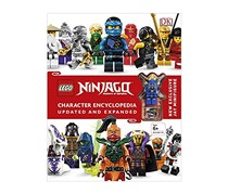 LEGO Ninjago Character Encyclopedia Updated Edition, White/Red