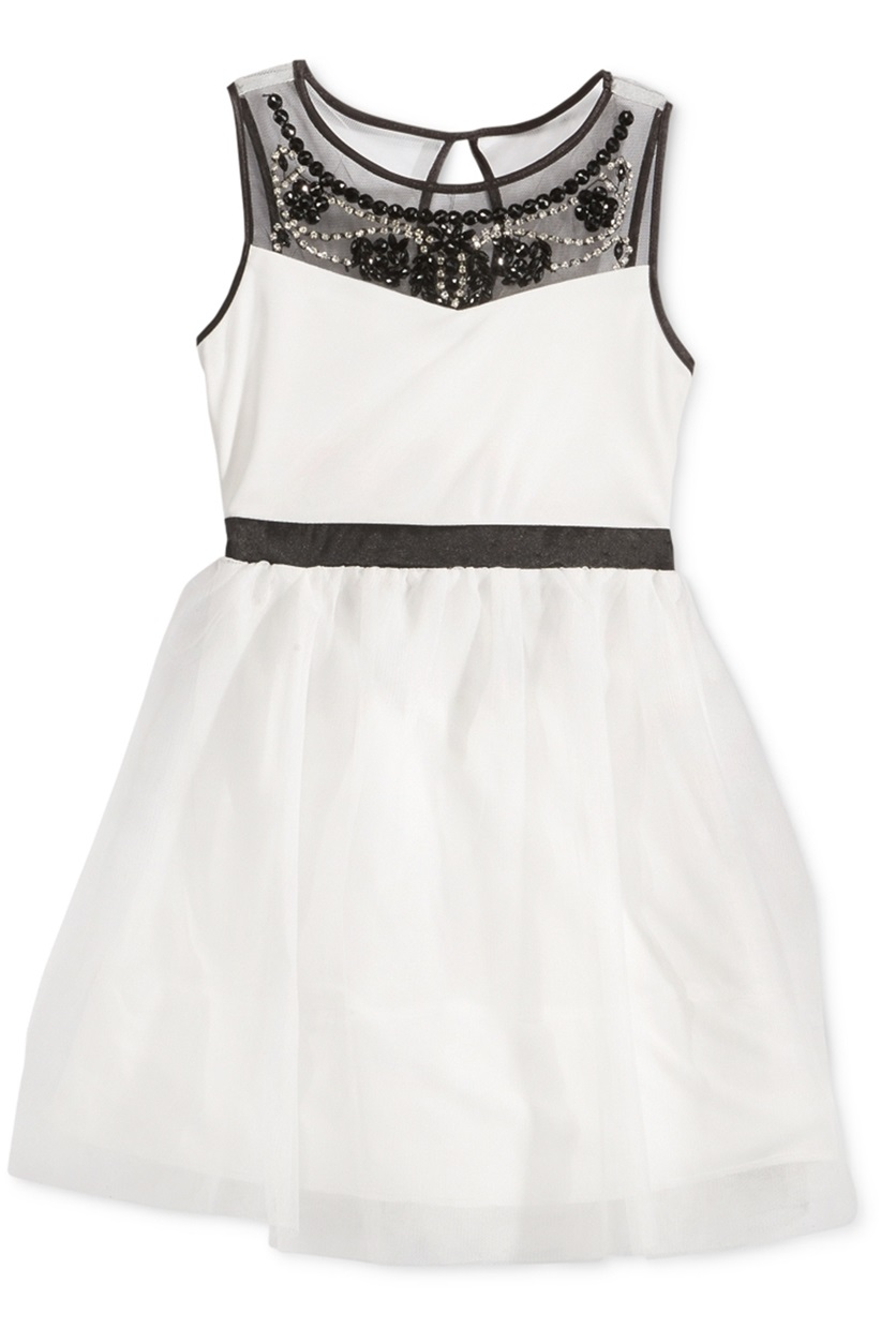 1a90e8518f424 White Special Occasion Dresses For Toddlers - Aztec Stone and ...