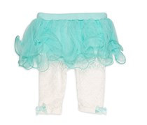 Baby Starters Toddlers Lace Leggings, Mint