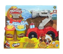Play-Doh Diggin Rigs Boomer The Fire Truck