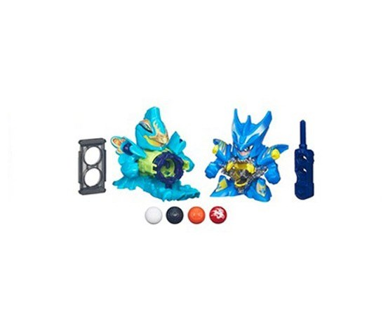 B-Daman Crossfire Thunder Jaku Vs. Strike Dracyan 2-Pack