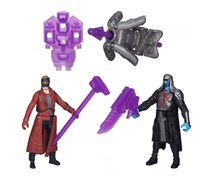 Marvel Guardians Of The Galaxy,Ronan And Peter Quill
