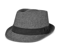 Sean John Fabric Fedora, Charcoal