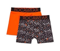 Rocawear Boys 2 Sport Boxer Brief, Digi Orange