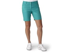 Adidas  Printed Diamond Golf Shorts, Nordic/Green