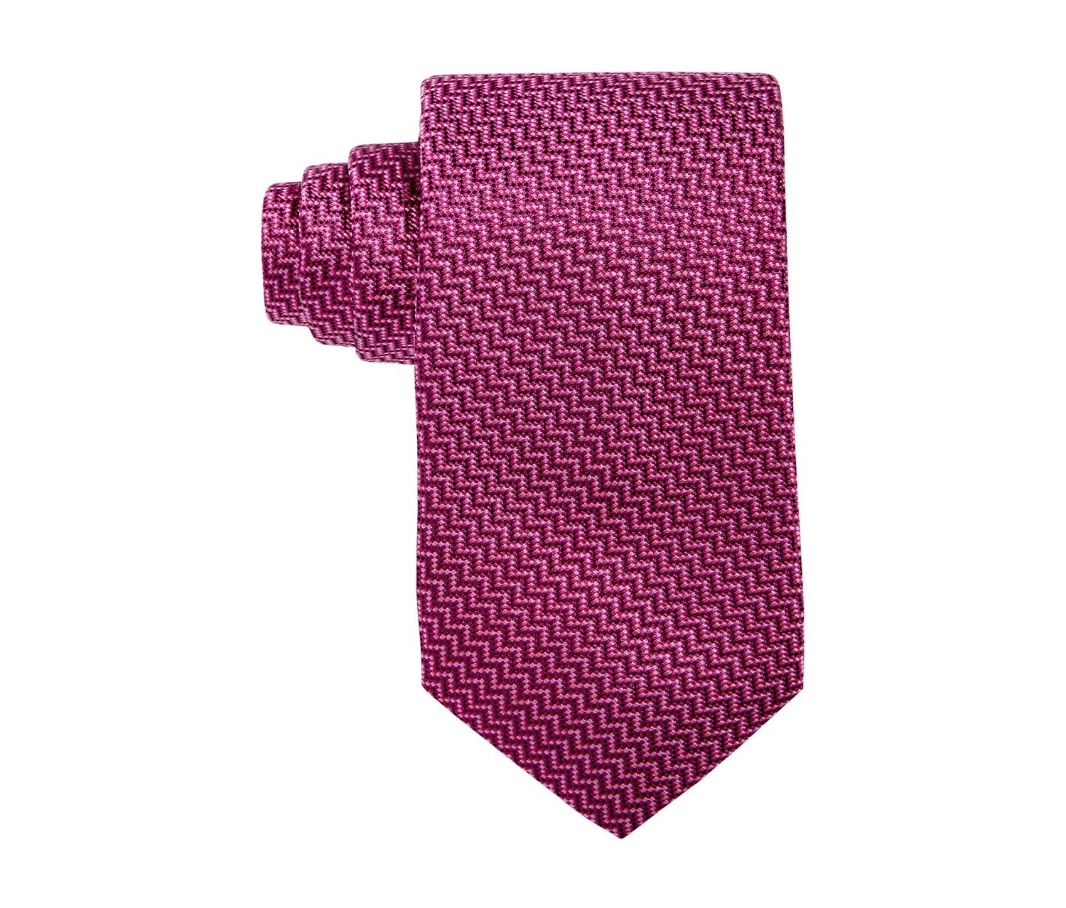 dd416ffe247ae0 Shop Alfani Alfani Men's Geo Slim Tie, Berry for Men Clothing in ...