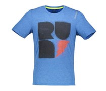 Reebok Printed T-Shirt, Heather Blue