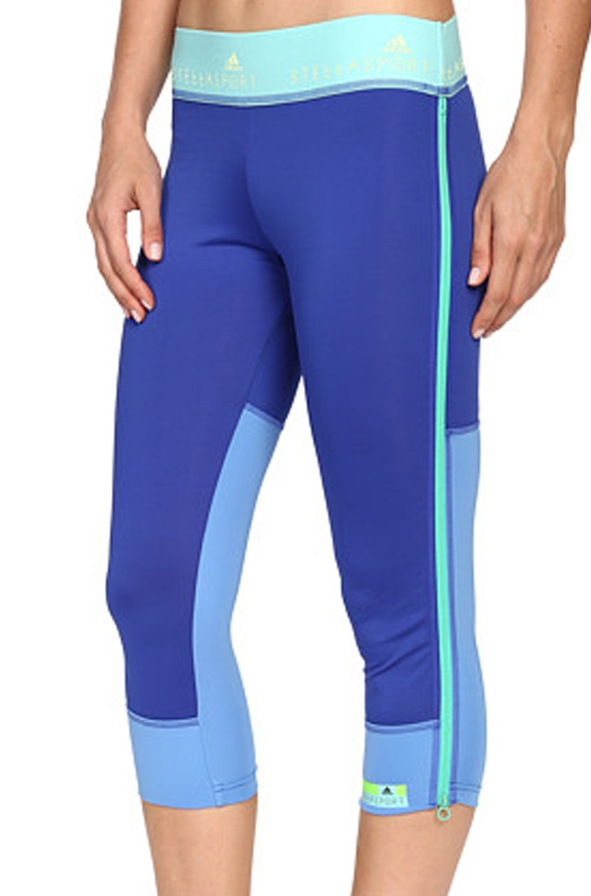 4abdd907920 Shop Adidas Adidas Womens 3/4 Tights, Bold Blue for Women Clothing in  United Arab Emirates - Brands For Less