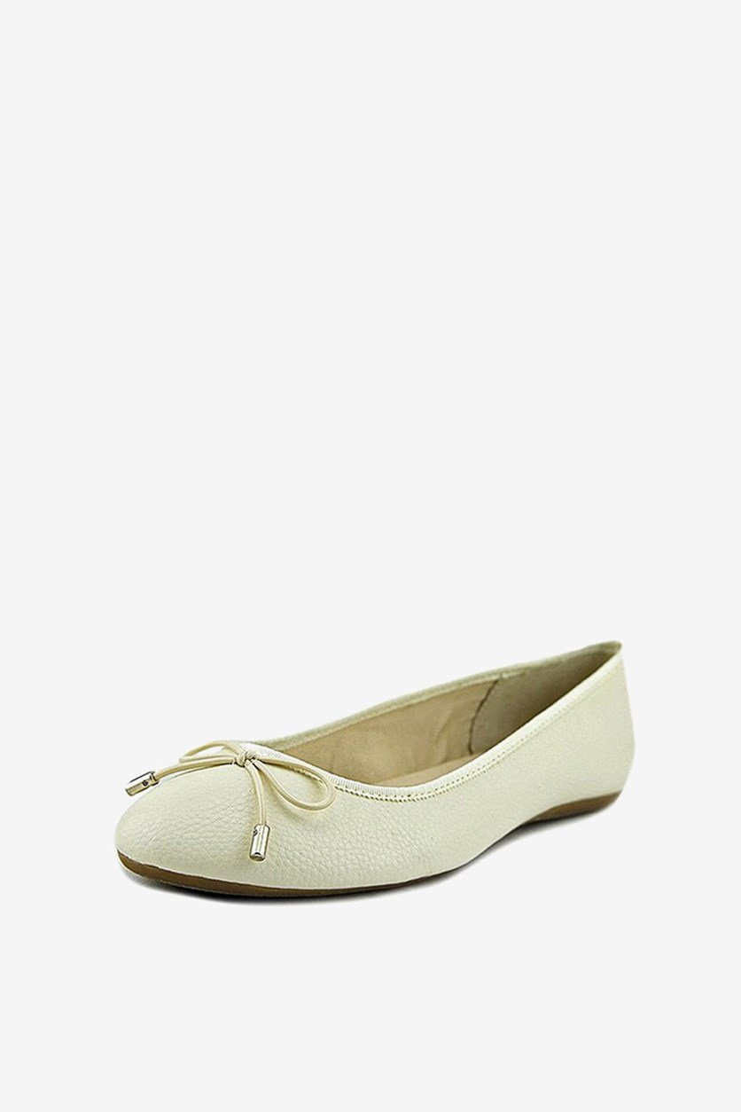 Womens Aleaa Ballet Flats, Cotton