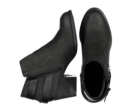 7ac7f6cb784 Shop Sole Society Sole Society Angie Leather Ankle Boots with Strap ...
